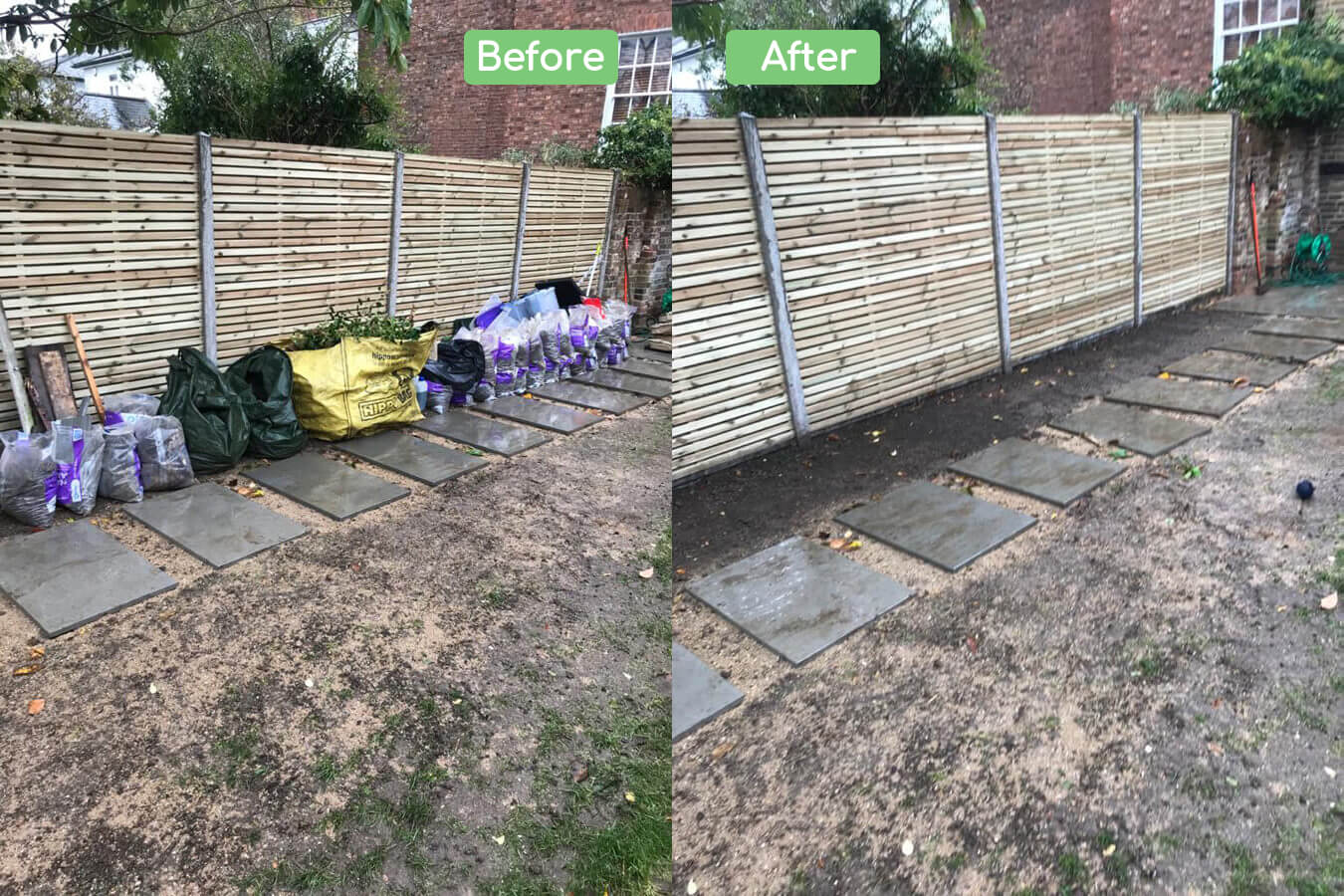 Garden clearance services Kingston upon Thames
