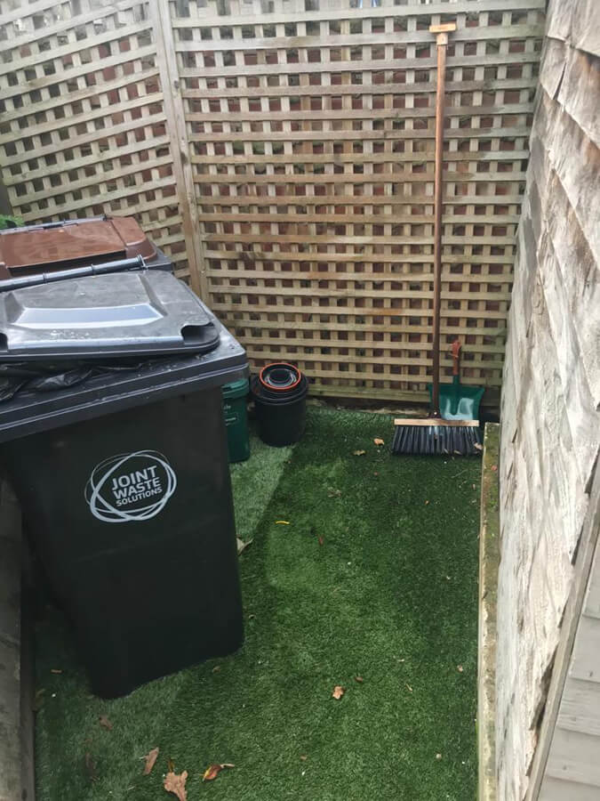 Local waste collection after